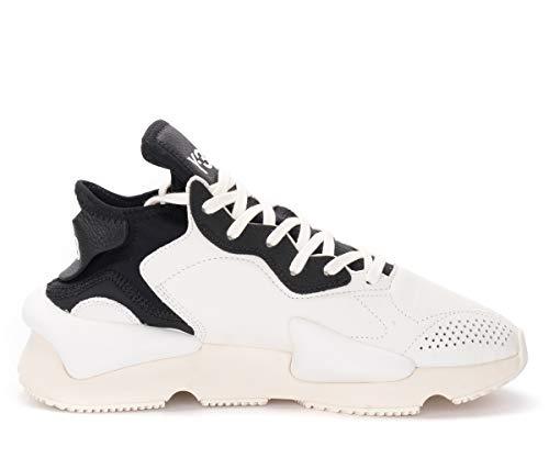 adidas Sneaker Y-3 Kaiwa Bianca E Nera, Größe UK: 10½