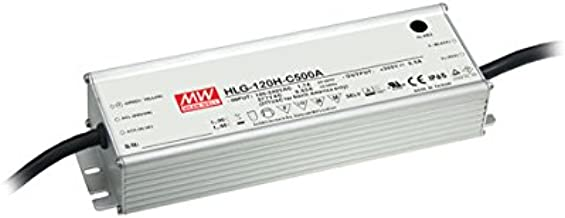Constant Current LED Driver Power Supply - Current Output Adjustable by Output Cable, 1050mA 74V to 148V 155W
