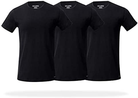 Pair of Thieves Men s 3 Pack Super Soft Crew Neck T Shirt Black Large product image