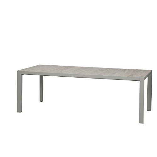 Siena Garden C31063 Silva Tisch, silber matt, 220x100cm