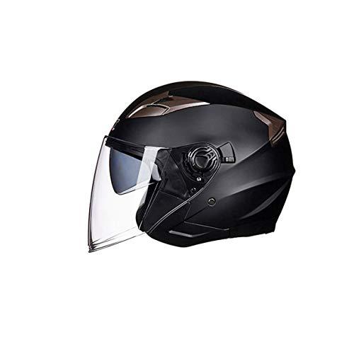 OLEEKA Flip Up Casco para motocicleta Casco de moto modular con visera interior de seguridad Lente doble de carreras Cascos integrales