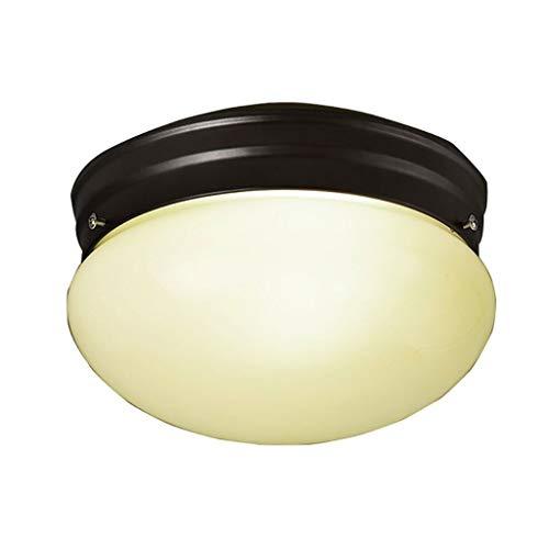 SPNEC Hierro Forjado Vintage Ronda lámpara del Techo, Regulable Salón Dormitorio Pasillo de Entrada de la lámpara de Techo Sala