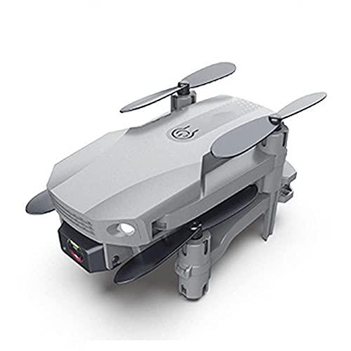 JJDSN Mini Dron Plegable, Quadcopter de fotografía aérea 4K de Alta definición, Avión de Juguete con Control Remoto de Doble cámara, Gris
