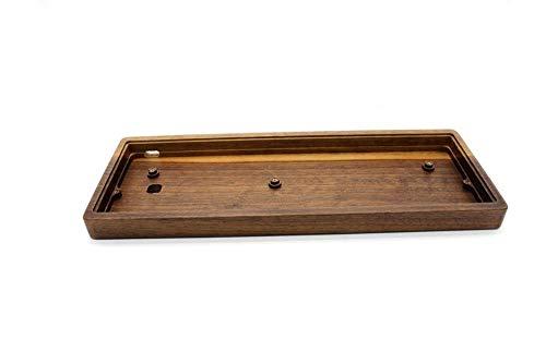 PCB GH60 Caja sólida de madera del resto de muñeca de la mano de PCB de la placa alambre for el 60% compatible mecánica del juego mini teclado soporte de la placa de circuito impreso