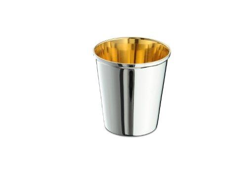 Kinderbecher 925/ Sterling 7,8 cm Taufbecher Sterlingsilber innen vergoldet