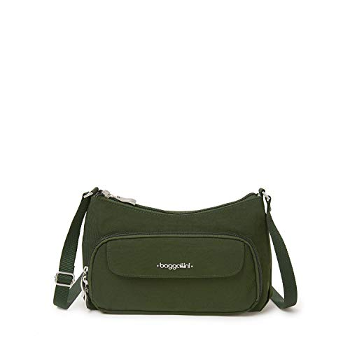 Baggallini womens Everywhere Bagg with RFID, Juniper,One Size