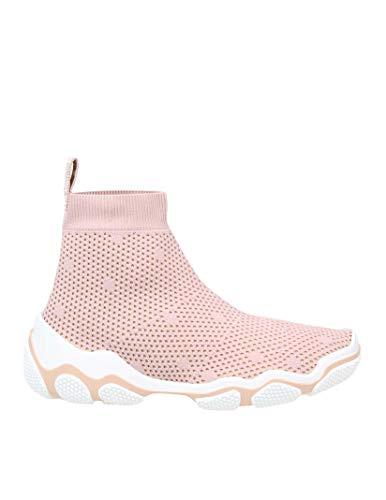 Valentino Luxury Fashion | Red Damen TQ2S0C14UJL11N Rosa Polyester Slip On Sneakers | Frühling Sommer 20