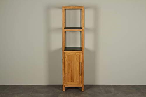 Staande badkamerkast teakhout Tall cabinet 180 cm