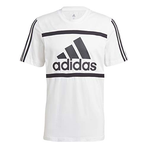 adidas M CB T Camiseta, Blanco, 4XL para Hombre