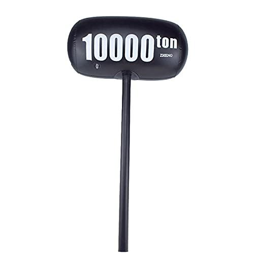 laoonl 10000ton martillo martillo martillo grande adulto broma apoyos para el juguete de la diversión