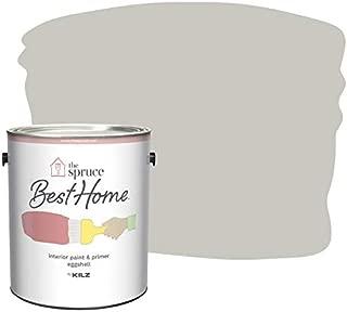 The Spruce Best Home by KILZ 15125501 Interior Eggshell Paint & Primer in One, 1 Gallon, SPR-27 Morning Fog