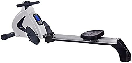 Stamina Avari A350-701 Programmable Magnetic Rower, White/Silver