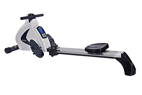 Cheapest Price! Stamina Avari A350-701 Programmable Magnetic Rower, White/Silver
