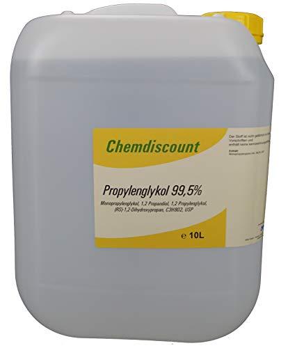 10Liter Propylenglykol 99,5% Pharmaqualität USP versandkostenfrei PG