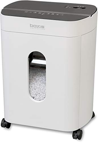 Purchase Boxis Nanoshred 10-Sheet Nanocut Paper Shredder (White)
