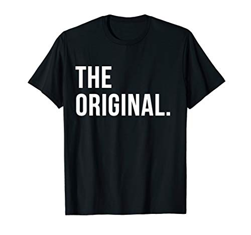 Vater Sohn Partnerlook The Original The Remix Outfit T-Shirt