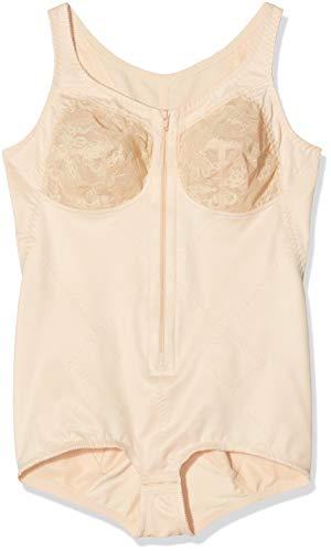 Susa Damen Hosencorselet ohne Bügel 6343 Formender Body, Beige (Haut 010), 85 B