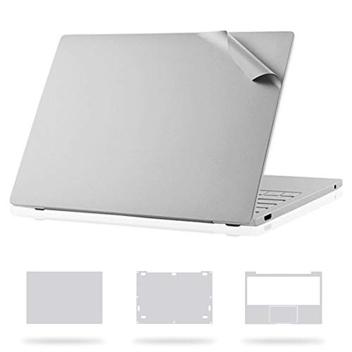 JSANSUI Light up Keyboard 4H for Xiaomi Laptop Top Film + Bottom Film + Full Film Set for Xiaomi Air 13.3 inch (Color : Silver)