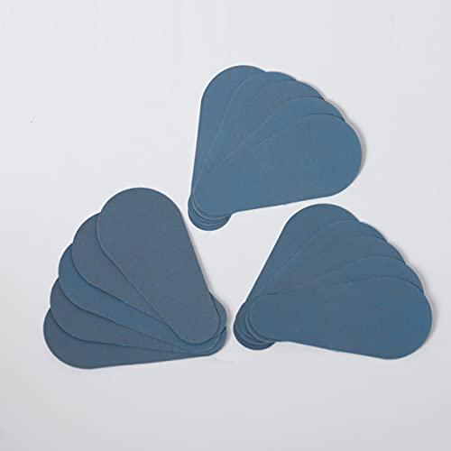 Decolores | Recambios Faciales Depilación Natural e Indolora | Ideal Para el Cuidado de la Piel | Incluye 15 Discos Faciales de Mineral de Silicio | Cuidado Facial