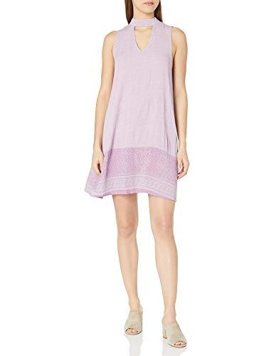 O'NEILL Junior's Kala Back Tie Dress, Dusty Lavender, S