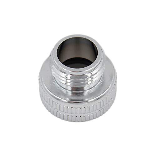 SpiceFlow Adapterstück | Chrom/Messing | 3/4 Zoll Innengewinde | 1/2 Zoll Außengewinde