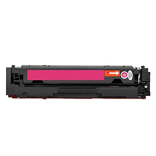 XIGU Compatible para el reemplazo del Cartucho de tóner HP W2040A para HP Color Laserjet Pro MFP M479FDW 479FNW Printer, Banco Inicio Resistente a los residuos de desecho Magenta