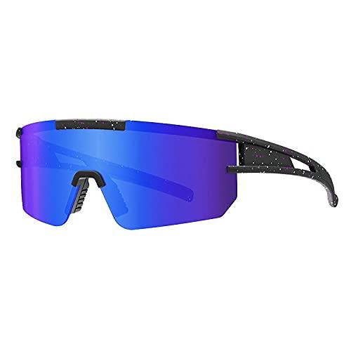 KUNHAN Gafas Ciclismo Hombre Gafas de Sol de rectángulo 2TR