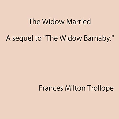 Couverture de The Widow Married