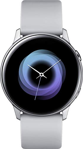 Samsung Galaxy Watch Active (40mm, GPS, Bluetooth, WiFi), - US Version with Warranty, Silver/Grey, 2.3