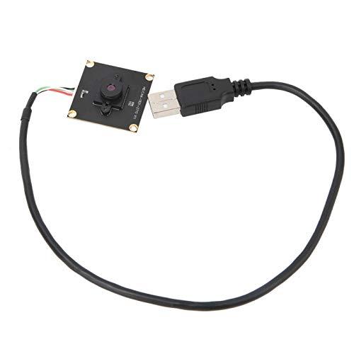 Cámara web USB de 2MP, módulo de cámara HD de 1080p, placa de cámara USB con vista de campo de 77 ° con OTG para reconocimiento facial, sistemas de monitoreo de seguridad para Win/Linux/Android