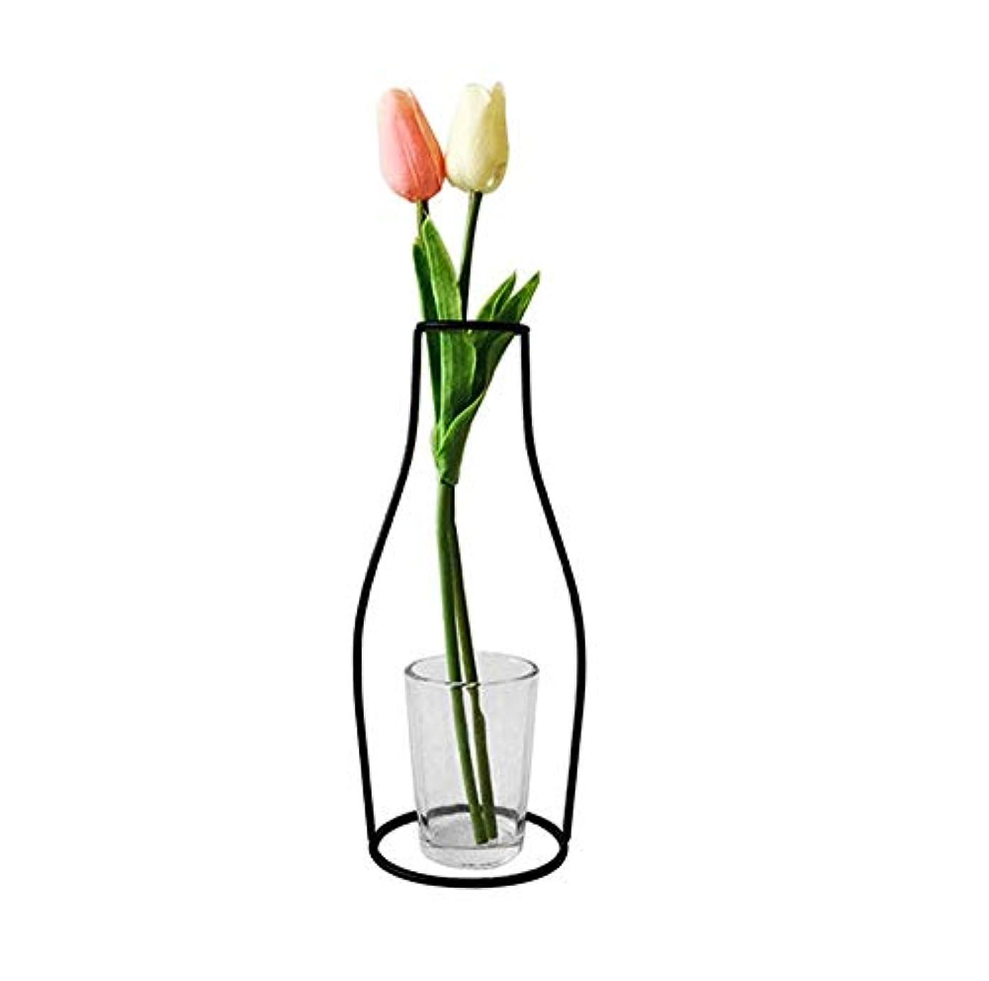 起点キッチン定義Jicorzo - グローブフェアリーミニチュアガーデン装飾アイアンアートクラフトシンプルバルコニーフラワーポットスタンドヴィンテージ家の庭の装飾アクセサリー[G06]