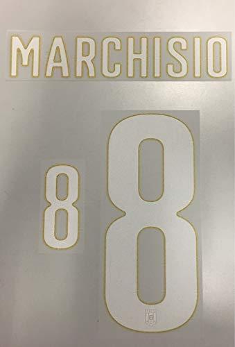 Flock Original Trikot Italien 26cm - Marchisio 8
