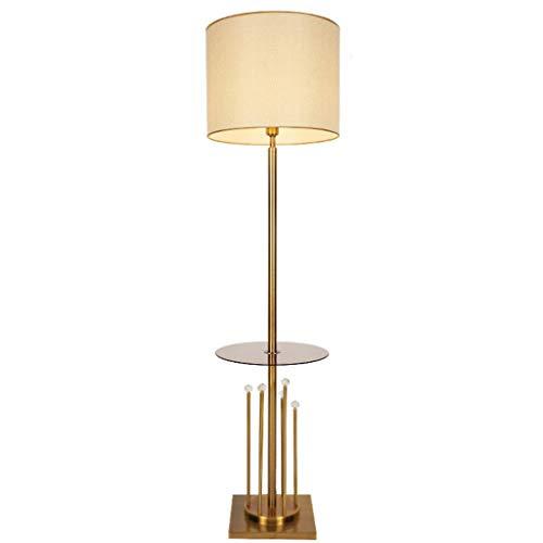 Jixi staande lamp met kristallen bol en staande lamp, eenvoudig, modern, stof, schaduw, etages, slaapkamer, licht, bedlampje, studio, woonkamer, staande lamp