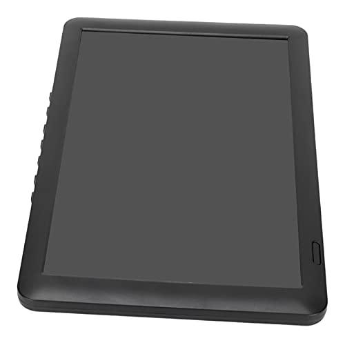 Petit Moniteur BNC, 10,6 Pouces Interface multimédia 1280 x 768 Temps de réponse 8 ms Moniteur Externe stéréo USB Portable HD pour Ordinateur Portable(EU-Plug)
