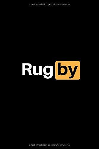 Rugby: Notizbuch - 150 linierte Seiten (6x9 Zoll / Softcover) - Sport: Spielvorbereitung & Analyse - Trainingstagebuch / Schreibblock & perfektes Geschenk - günstig
