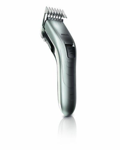 Philips QC5130-15 Tondeuse à Cheveux Rechargeable Secteur Rasoir éléctrique Lames extra-large 41mm Gris/Chrome