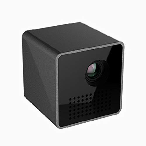 ZHSHML TYYJY Mini proyector con Wi-Fi, proyectores DLP inteligentes para películas en interiores y exteriores, soporte de proyector móvil inalámbrico