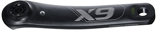 Truvativ CWCX9007 Manivelle Gauche de pédalier Gris 180 mm