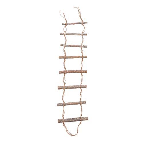 Garneck Papegaai Ladder Speelgoed Vogel Schommel Speelgoed Houten Vogel Hangend Speelgoed Staan Ladder Rek Voor Vogel Papegaai Huisdier Parkieten Lovebird Budgies