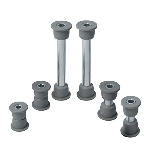 102289901 Bushing and Sleeve Kit Front Lower Spring & Front Upper A-Arm Suspension for Club Car Precedent 102956201 102288101, 102287701, 1102287601