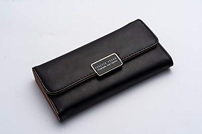 Yolin Womens Walllet RFID Blocking Bifold Multi Card Case Leather Wallet