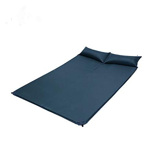 Dance angel Ultraleichte Schlafmatte Doppelmatratze 195 x 130 cm Mit Kissen Aufblasbar Luft Picknick Zelt Camping Pad - wasserdicht Und Feuchtigkeitsbeständig - Kompakt Und Tragbar Matratze