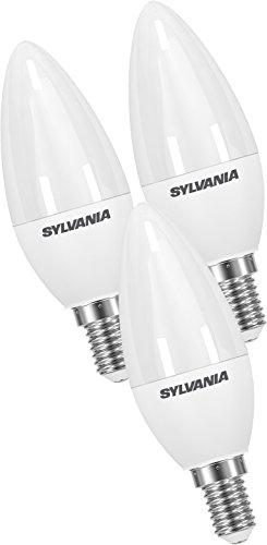 Sylvania SYL0027881 Lot 3 Ampoules LED, Plastique, E14, 5.5W, Blanc