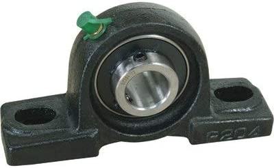 NorTrac Long Beach Mall Pillow Block - 2-Bolt Genuine 8in. Oval Mount 1