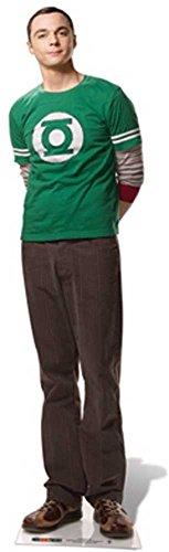 empireposter The Big Bang Theory - Sheldon Cooper Pappaufsteller Standy - ca 185 cm
