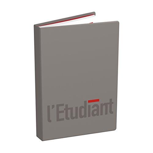 1–Agenda escolar (L 'Etudiant la Original–12x 17cm–2018/2019–un día por página, color marrón