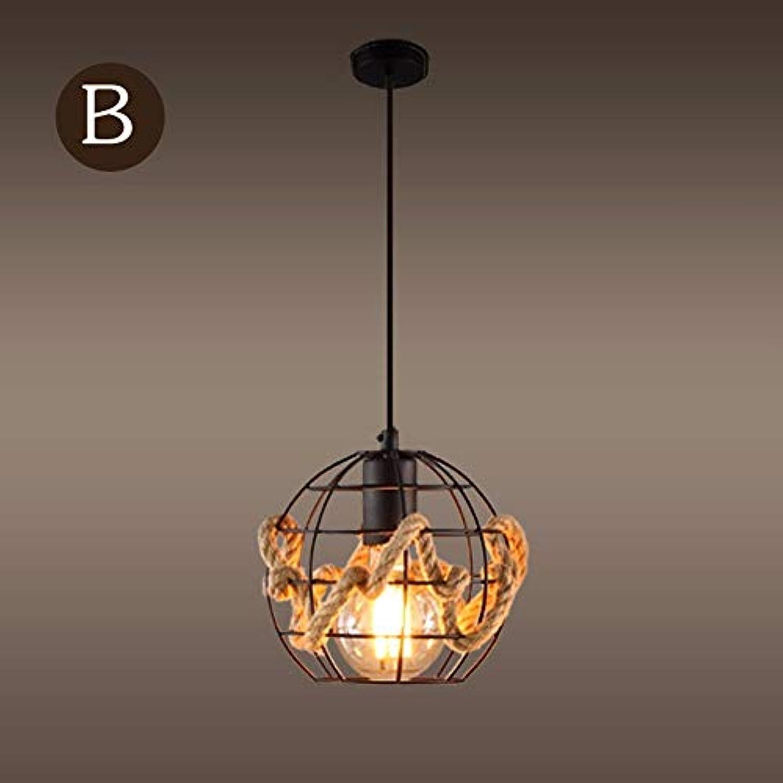 Oudan Kronleuchter Pendelleuchte Personalisierte Café Kfige Kunst Bar Retro Mesh Lampe 18  16 cm