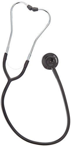 ERKA. Erkaphon Duo Alu Stethoskop black Line mit schwarzem Schlauch