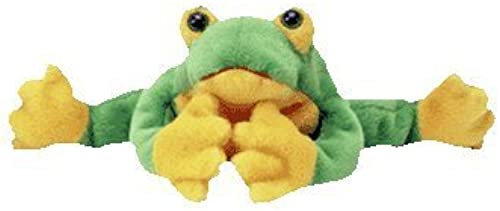 TY Beanie Baby - SMOOCHY the Frog by TYBEANIES AQUATIC