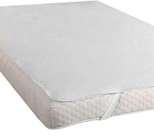 EXCLUSIEF HEIMTEXTIL matras incontinentiemat vochtbescherming waterdichte matrasbeschermer Molton 90x200 cm